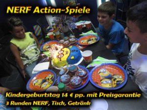 Nerf Hannover Kindergeburtstag Schlacht